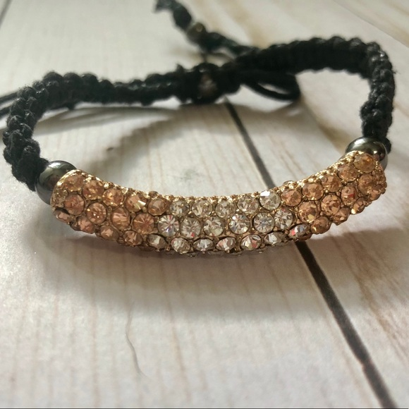 Jewelry White Rose Gold Bracelet Shamballa Poshmark